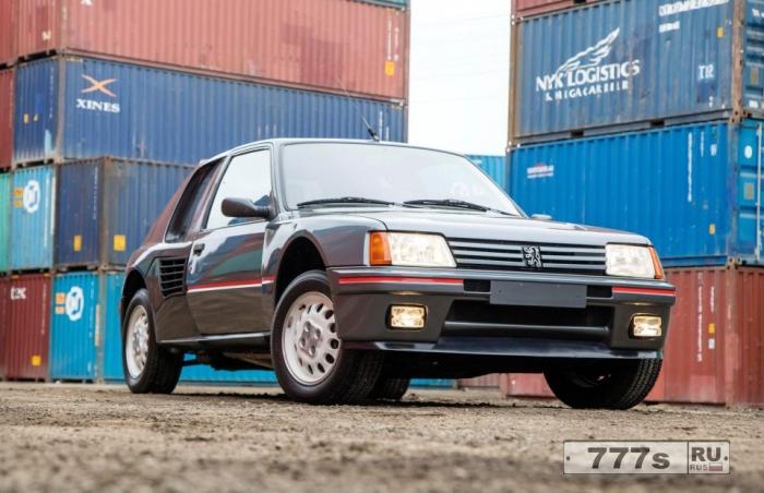 Классическая суперзвезда Peugeot 205 80-х годов настроена на преодоление мирового рекорда с ценой 210 000 фунтов стерлингов.