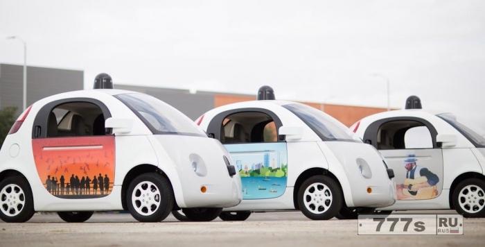 Проект Гугла самоуправляемый автомобиль «Waymo» становиться мягким, как подушка при обнаружении пешеходов.