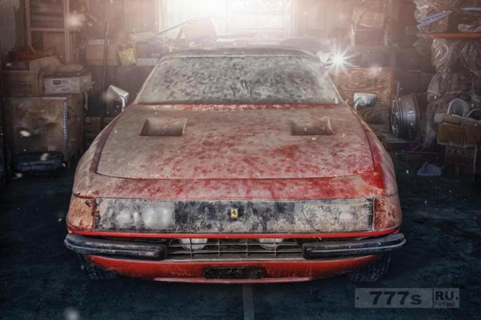 Грязная Ferrari, найденная через 40 лет в японском сарае, будет продаваться за 1,5 миллиона долларов.