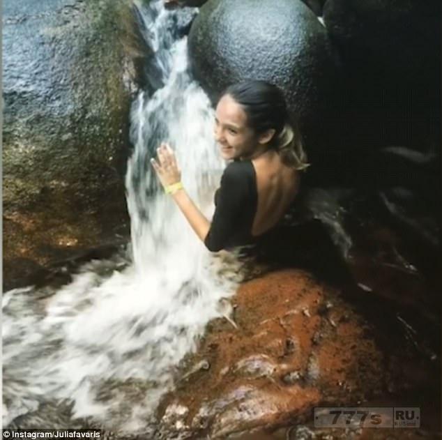 Боулдер около Рио-де-Жанейро, который засасывает пловцов через крошечную дыру в секретную пещеру, становится туристической горячей точкой.