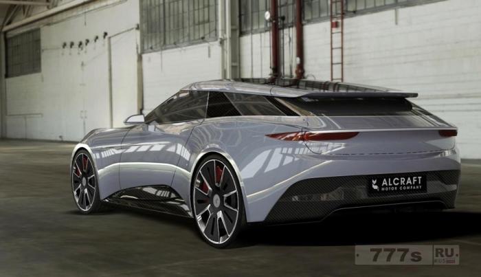 Alcraft GT - новый британский электромобиль, предназначенный для соревнования с Теслой.