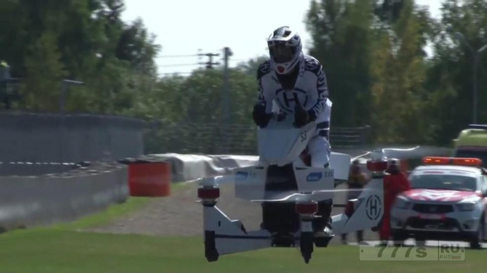Невероятные летающие мотоциклы разрабатываются ... и вы сможете на них сесть уже в следующем году.