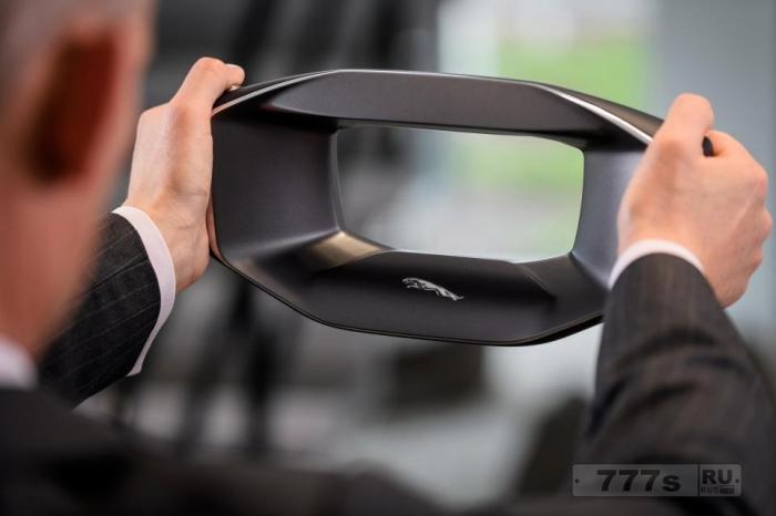 Революционное видение автомобилей Jaguar в будущем увидит водителей с говорящим рулевым колесом - но никакого транспортного средства.