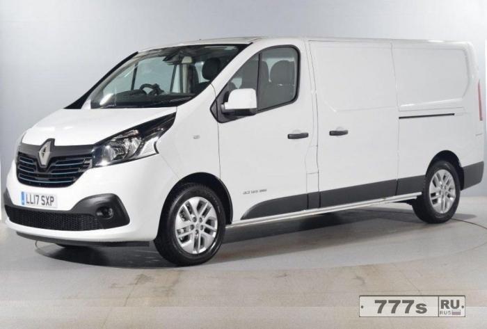 Новый Renault Trafic: новый фургон 21 века с цифровой техникой.