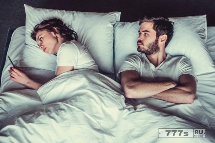 Ложась спать рассерженным может разрушить ваш сон.