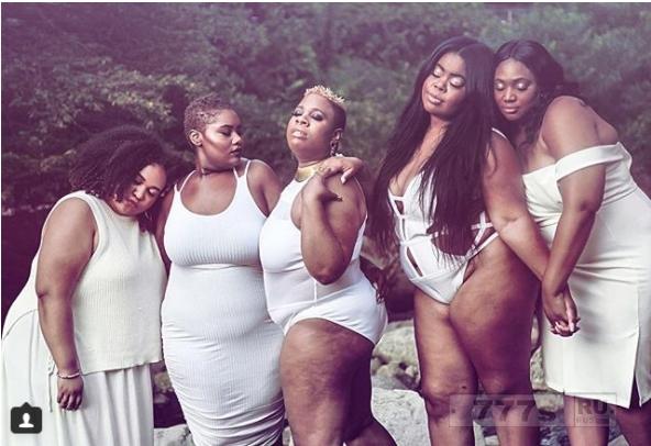 Встречайте пять толстух, которые «беззастенчиво» влюблены в свою красоту.