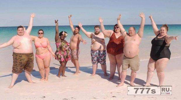 Курорт был построен для людей с ожирением.