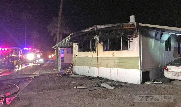 Мужчина попытался убить пауков с помощью паяльной лампы и сжег свой дом.