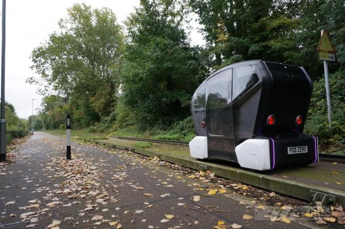 Самоуправляемые «автобусы» опробовали новые маршруты в Кембридже.