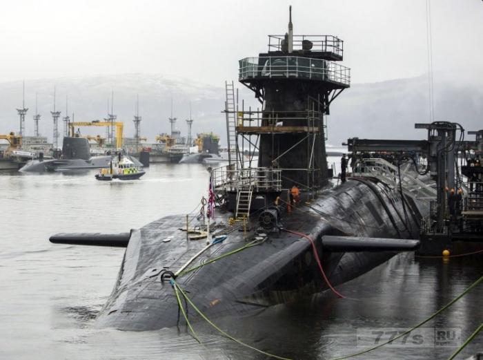 Несколько моряков, принимавших наркотики на службе на субмарине ВМС уволены.