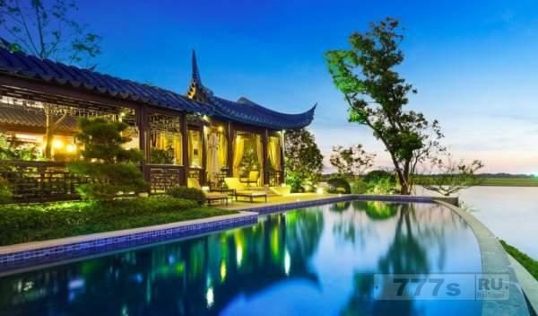 Самое дорогое здание особняка на территории Китая