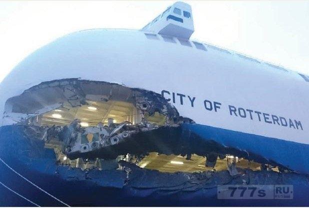 Капитан причинил ущерб судну в размере 1 000 000 фунтов стерлингов, потому что он смотрел не в то окно.
