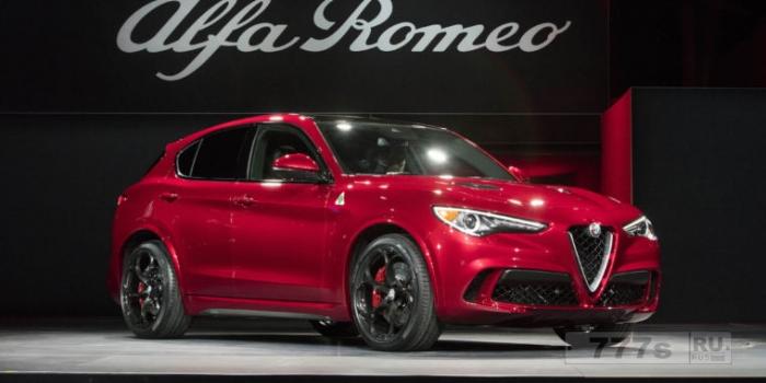 Alfa Romeo Stelvio Quadrifoglio - самый быстрый внедорожник с максимальной скоростью 176 миль в час.