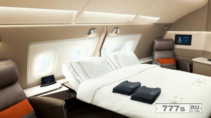 Новые первоклассные апартаменты Singapore Airlines похожи на номера в отеле