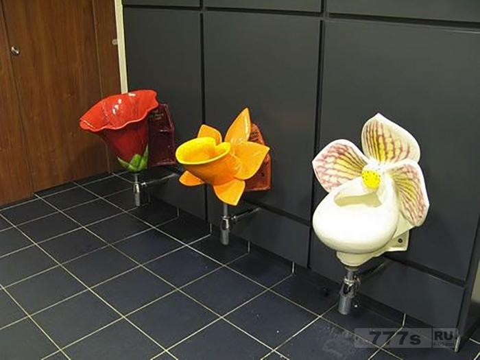 Странные фотографии сумасшедших туалетов со всего мира.