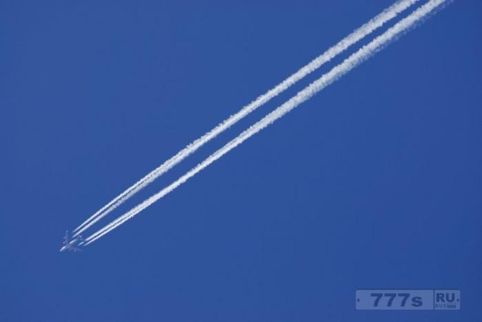 Около трети американцев считают, что инверсионный след от реактивного самолета реально существует.