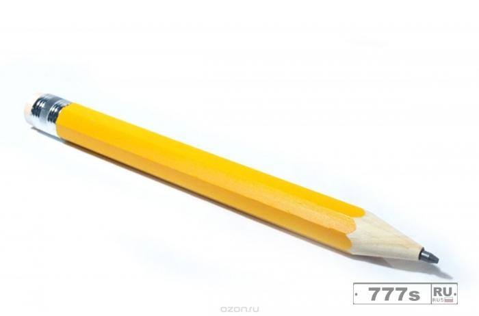 Появление простого карандаша