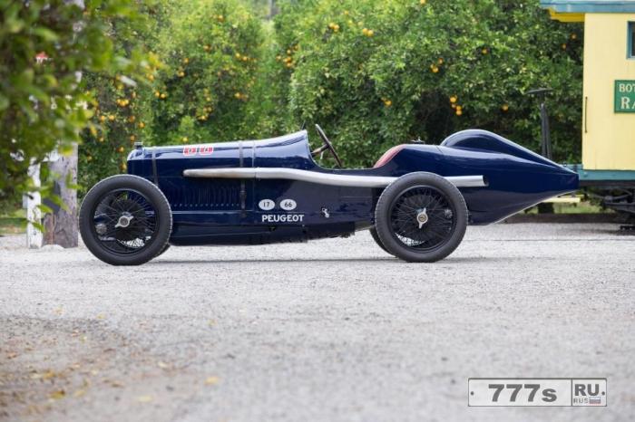 100-летний гоночный автомобиль марки Пежо только что был продан за рекордные £ 5.5 миллионов.