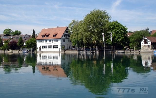 Интересный город Бюзинген-ам-Хохрайн.