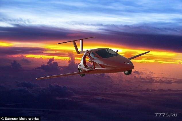 Первый в мире летающий спортивный автомобиль должен взлететь в следующем году