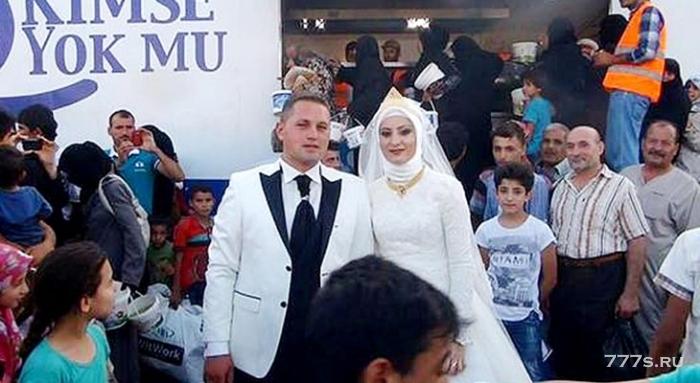 Свадьба с переселенцами