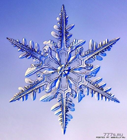 Создание симметричных снежинок