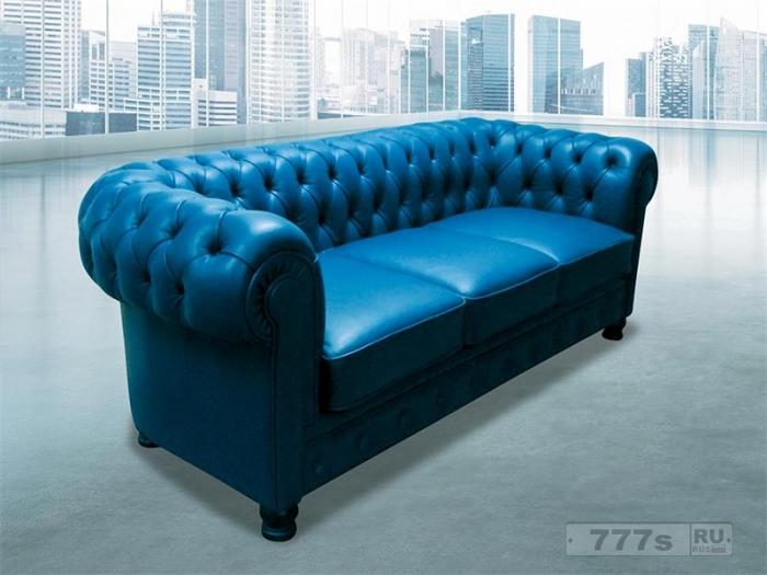 Отличие диванов с креслами Честерфилд
