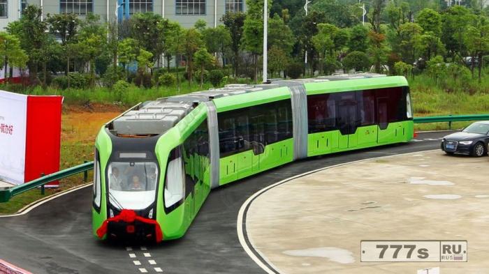 Функционирование новых маршруток в Китае без водителя
