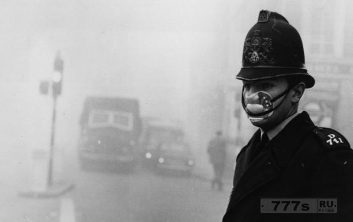 Загрязнение воздуха в Лондоне настолько сильное, что опасно много находится на воздухе.