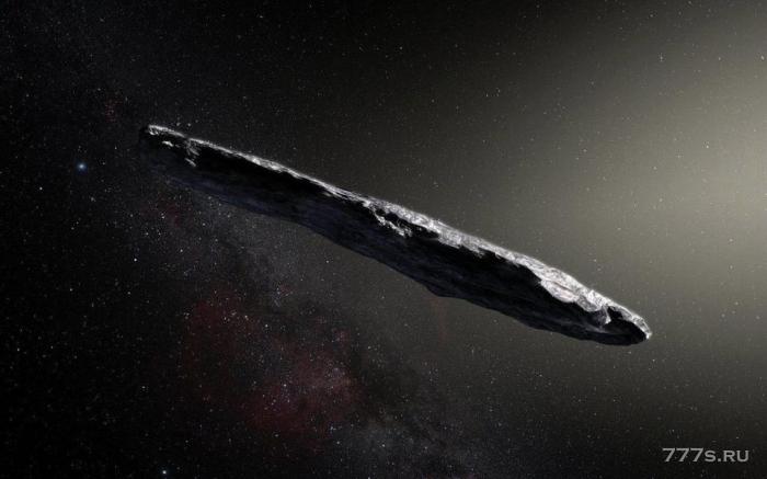 Сигарообразный астероид может быть огромным космическим кораблем, говорят ученые