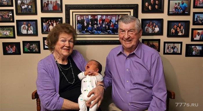 Рождение сотого внука