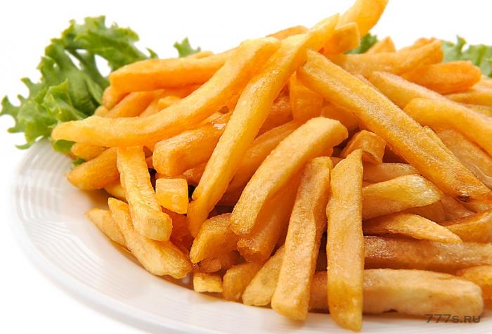 Стоит ли совсем отказаться от картофеля фри