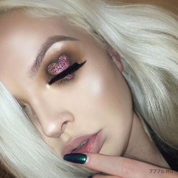 Глаза как Валентинки - последняя причудливая тенденция красоты, появившаяся в Инстаграме