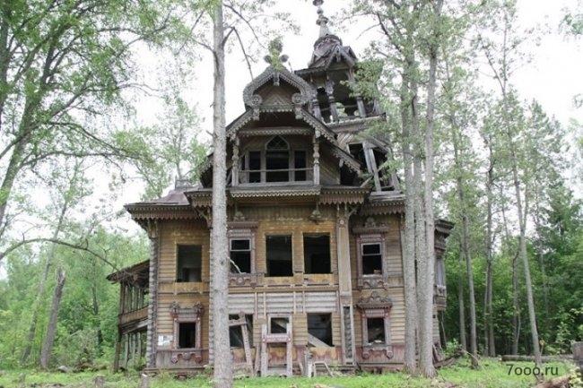 Здание русского терема реставрировали