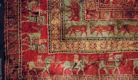 Пазырские ковры считают самыми древними на территории всего мира