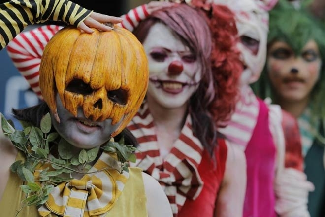 Как произошел Хэллоуин