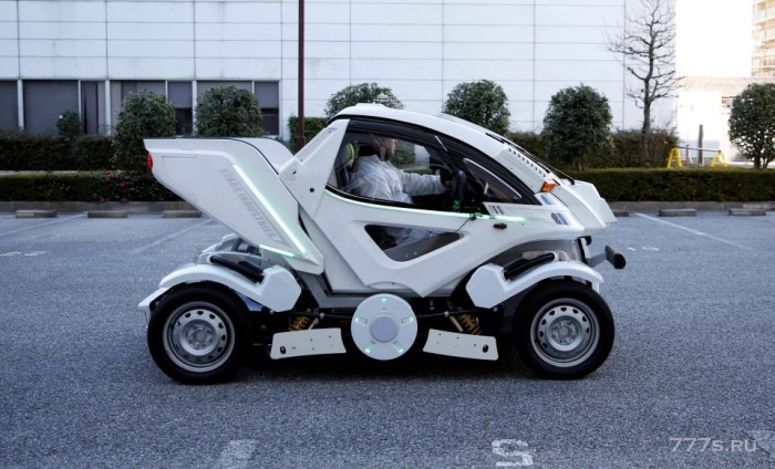 Автомобиль робот, который может менять форму, как Трансформер, может скоро попасть на улицы