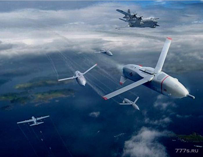 Армия США разрабатывает ракетные дроны «Гремлин», которые могут быть запущены с летающих авиаматок