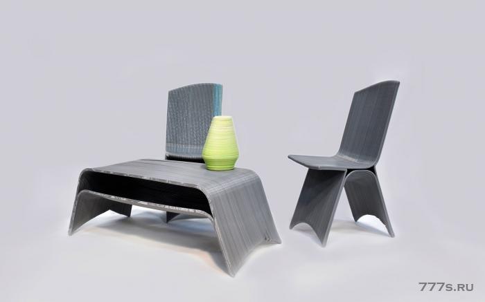 Предметы мебели из пластика