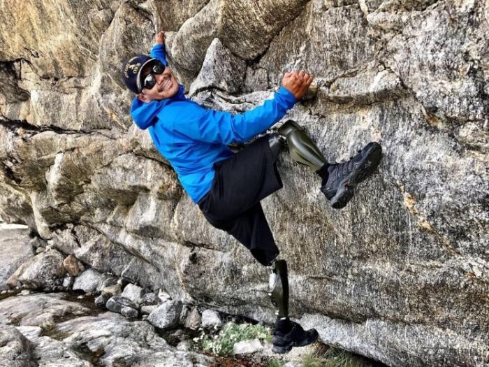 Гурке, потерявшему ноги в Афганистане, запретили подниматься на гору Эверест