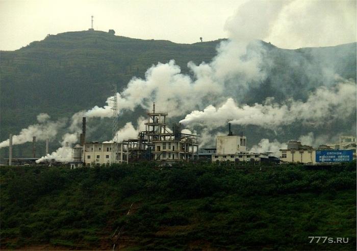 Китай строит крупнейший в мире очиститель воздуха для борьбы с опасным загрязнением