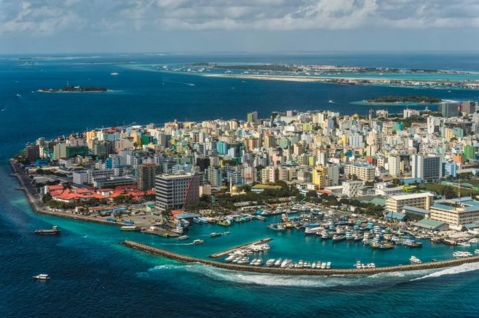 Мале город в Индийском океане