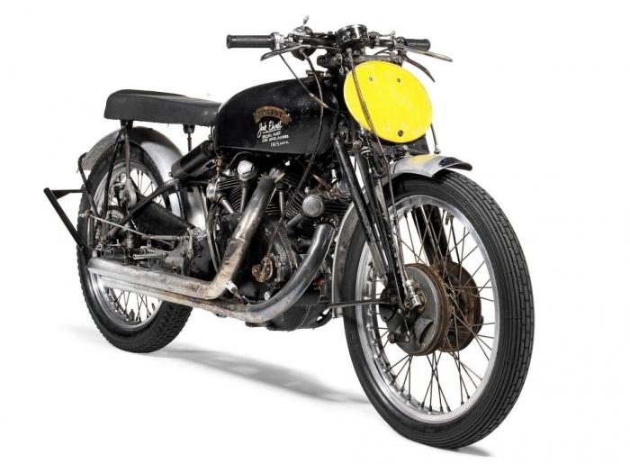 Британский мотоцикл Vincent Black Lightning - самый дорогой мотоцикл