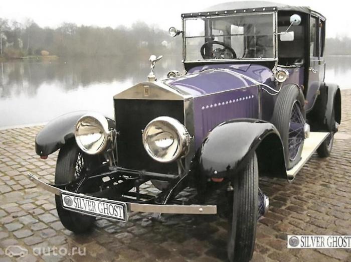 Старинный Rolls-Royce Silver Ghost, принадлежащий последнему русскому царю, продается на Avito за 278 миллионов рублей