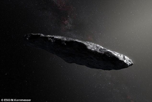 Сигарообразный межзвездный астероид, который считался «зондом инопланетян», столкнулся с загадочным объектом