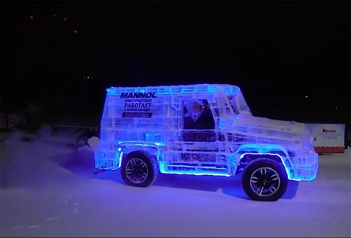 Сумасшедшие автомобили Сибири - где Mercedes и Lamborghini получают ледяной макияж