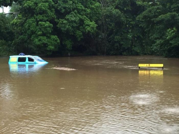 Британские туристы не понимали, что они припарковались в «зоне предупреждения о крокодилах»