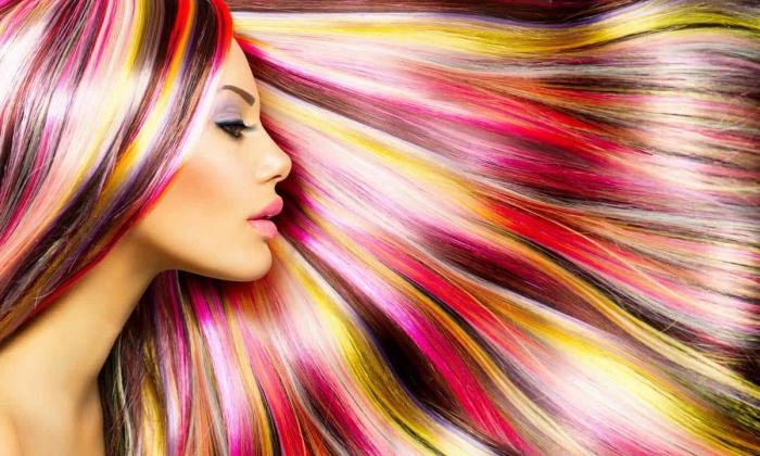 Какое окрашивание волос сейчас в моде