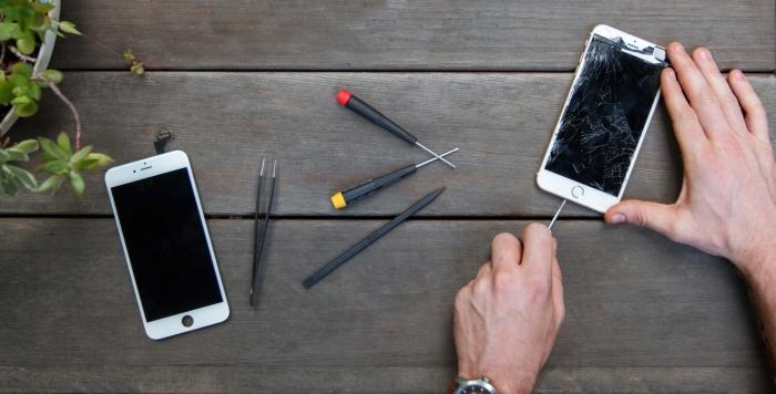 Цена на ремонт айфона