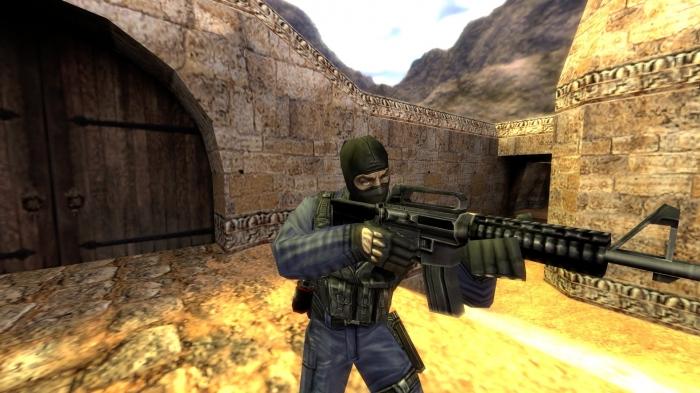 Counter-Strike 1.6 с ботами
